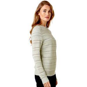 HELLY HANSEN women's Skagen Knit Sweater in Cream - NEW - size XL